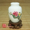 2006 Yilong Peony Porcelain Tea Canister